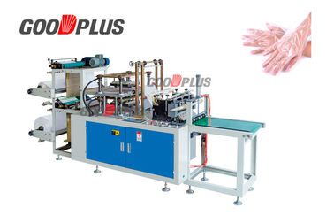 High Strength Plastic Hand Gloves Making Machine High Power  Low Noise