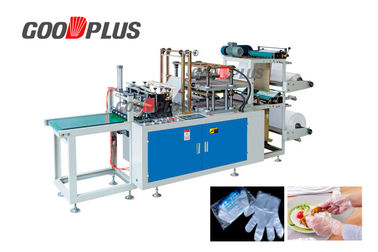 High Output Plastic Glove Making Machine 40-200 Pcs / Min Low Space Occupation