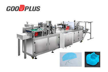 Small Scale Disposable Cap Making Machine Low Space Occupation 8250*900*1400MM