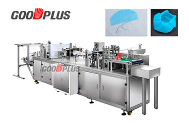 Dust Proof Bouffant Cap Making Machine Energy Saving High Power 6 KW 220V